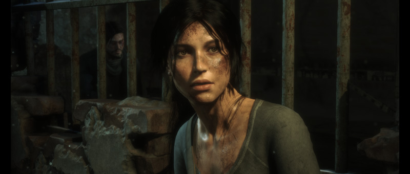 Lara Croft in The Rise of the Tomb